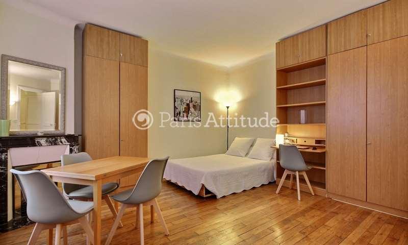 Location Appartement Studio 34m² rue Duhesme, 18 Paris