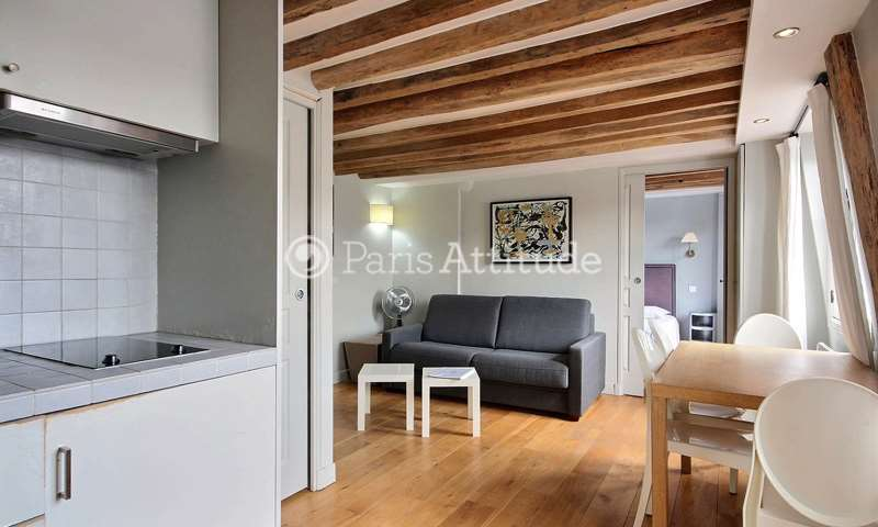 Rent Apartment 2 Bedroom 50m² rue Sainte Anne, 75002 Paris