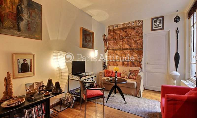 Rent Apartment 1 Bedroom 39m² rue du Poteau, 18 Paris