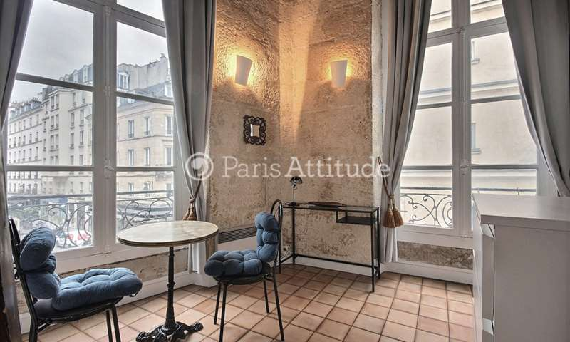 Rent Apartment Studio 16m² rue de Seine, 6 Paris