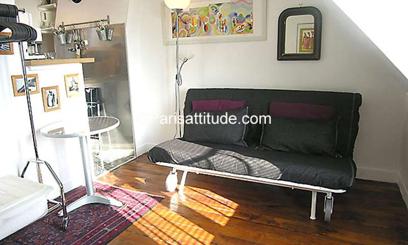 Rent Apartment Studio 15m² rue de la Folie Mericourt, 11 Paris