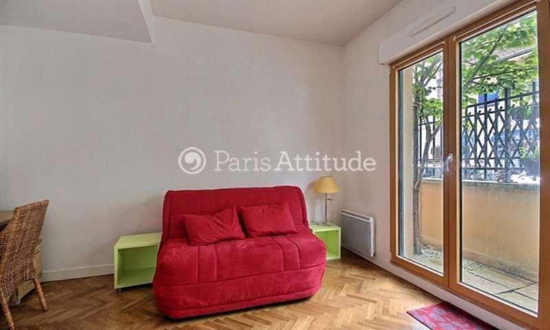 Rent Apartment Studio 25m² rue du Point du Jour, 92100 Boulogne Billancourt