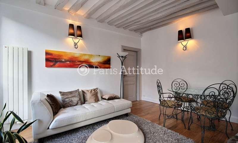 Rent Apartment 1 Bedroom 50m² rue des Gravilliers, 3 Paris