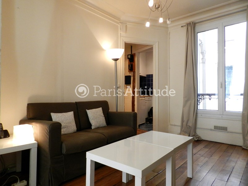 Location Appartement 1 Chambre 28m² rue Dulong, 75017 Paris