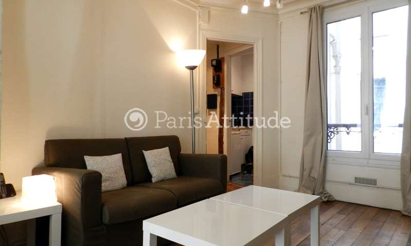 Rent Apartment 1 Bedroom 34m² rue Dulong, 17 Paris