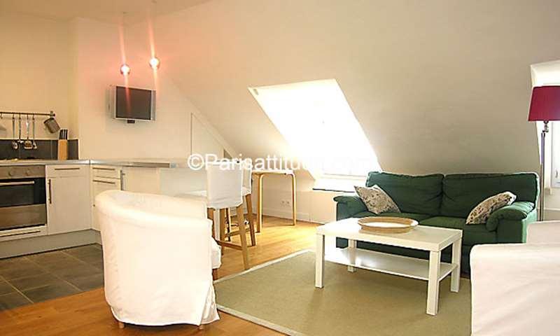 Rent Apartment Alcove Studio 30m² rue du Cherche Midi, 75006 Paris