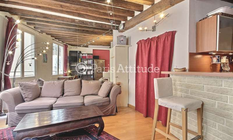 Aluguel Apartamento 1 quarto 31m² rue Jean Jacques Rousseau, 1 Paris