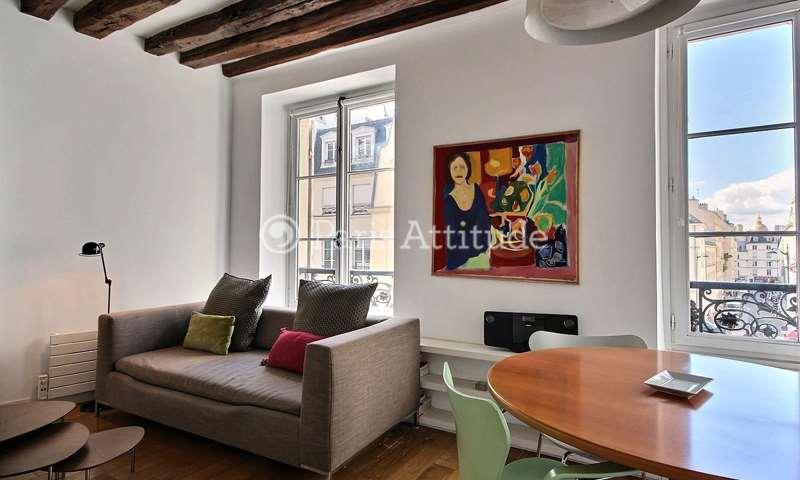 Rent Apartment 1 Bedroom 32m² rue du Cherche Midi, 6 Paris