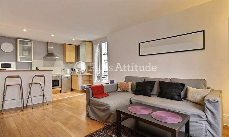 Rent Apartment 1 Bedroom 45m² rue des Dames, 17 Paris