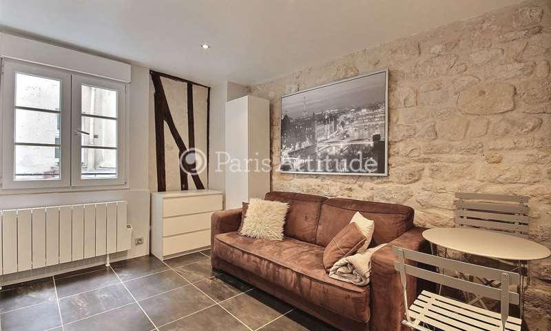 Rent Apartment Studio 15m² rue Saint Sauveur, 75002 Paris