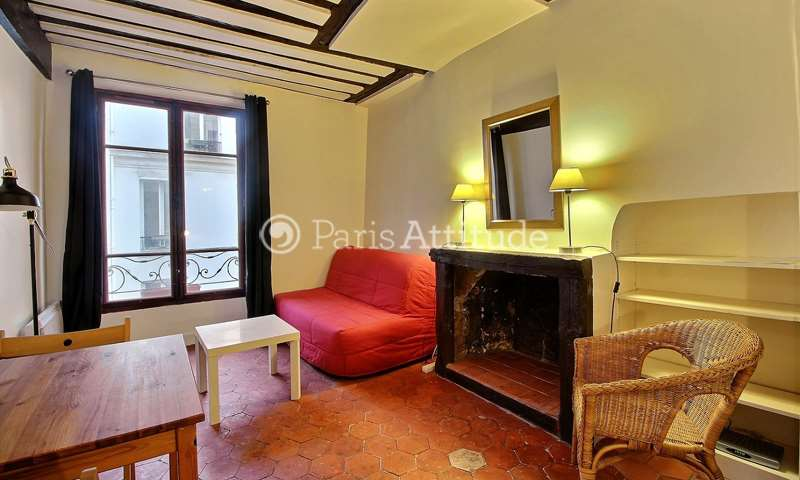 Location Appartement Studio 19m² rue de Poitou, 3 Paris