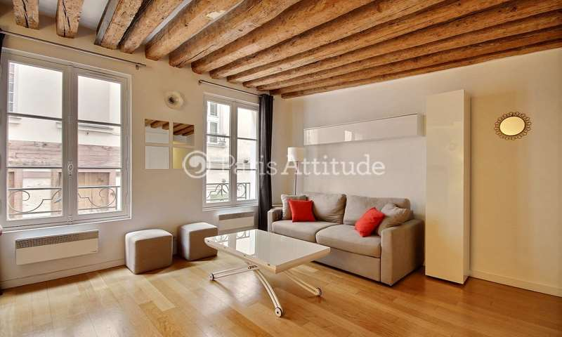 Location Appartement Studio 29m² rue de Buci, 6 Paris