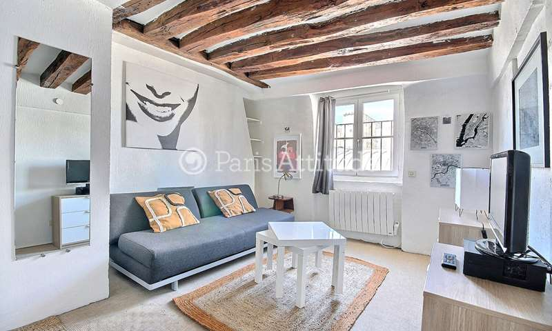 Rent Apartment Studio 22m² rue de Lille, 75007 Paris