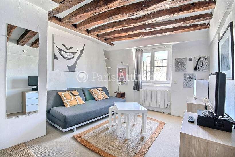 Rent furnished Apartment Studio 22m² rue de Lille, 75007 Paris