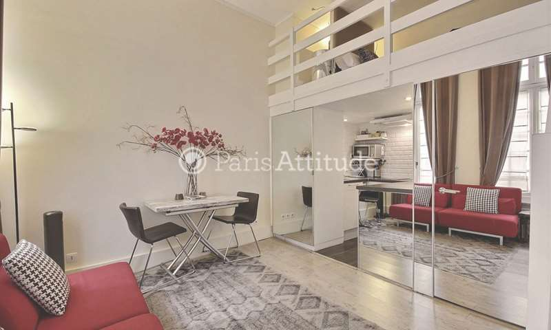 Location Appartement Alcove Studio 18m² rue Quincampoix, 75003 Paris