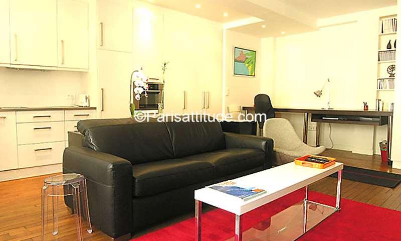 Rent Apartment Alcove Studio 45m² rue Marie Stuart, 2 Paris