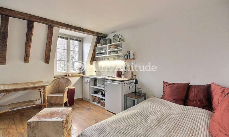 Rent Apartment Studio 19m² rue de la Roquette, 75011 Paris