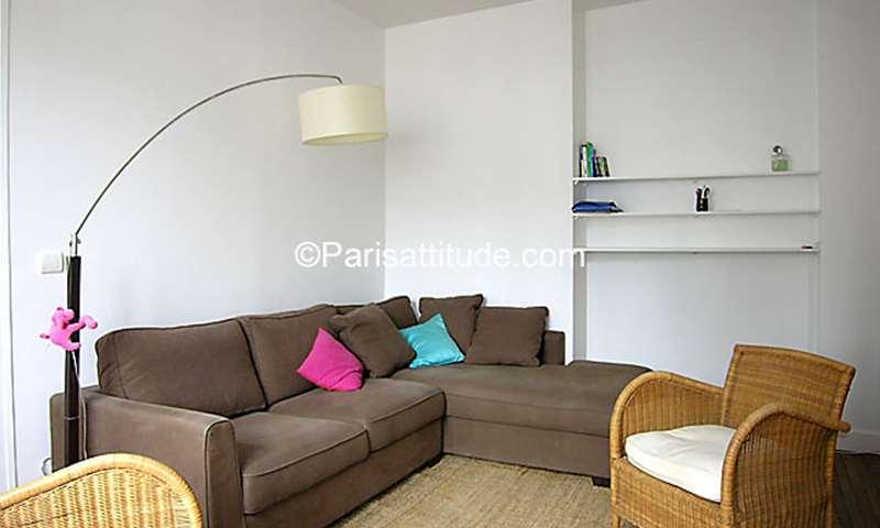 Rent Apartment 1 Bedroom 37m² rue de Clignancourt, 18 Paris