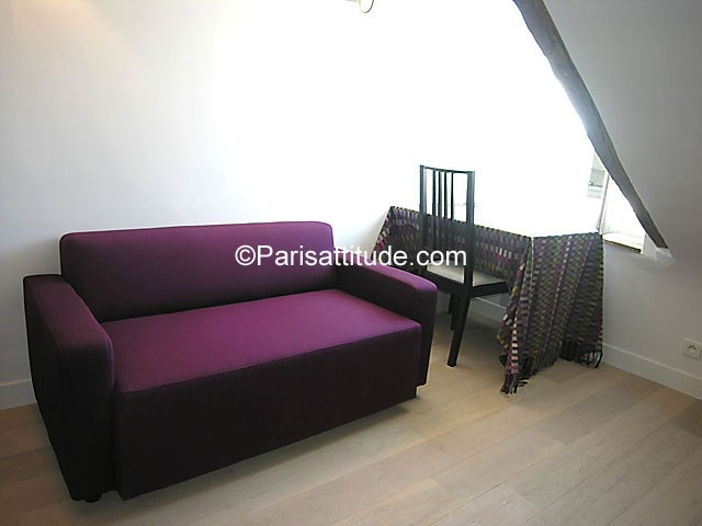 Rent Apartment 1 Bedroom 21m² rue Dauphine, 75006 Paris