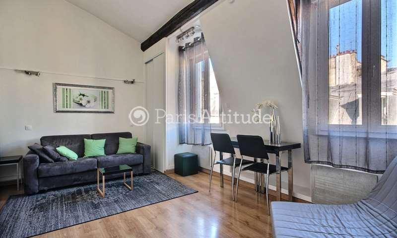 Rent Apartment Studio 29m² rue de la Huchette, 75005 Paris