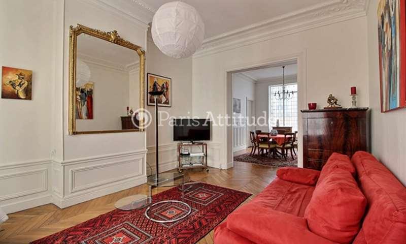 Rent Apartment 3 Bedrooms 102m² avenue de Wagram, 17 Paris