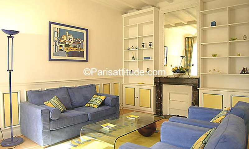 Rent Apartment 1 Bedroom 46m² rue du Ranelagh, 16 Paris