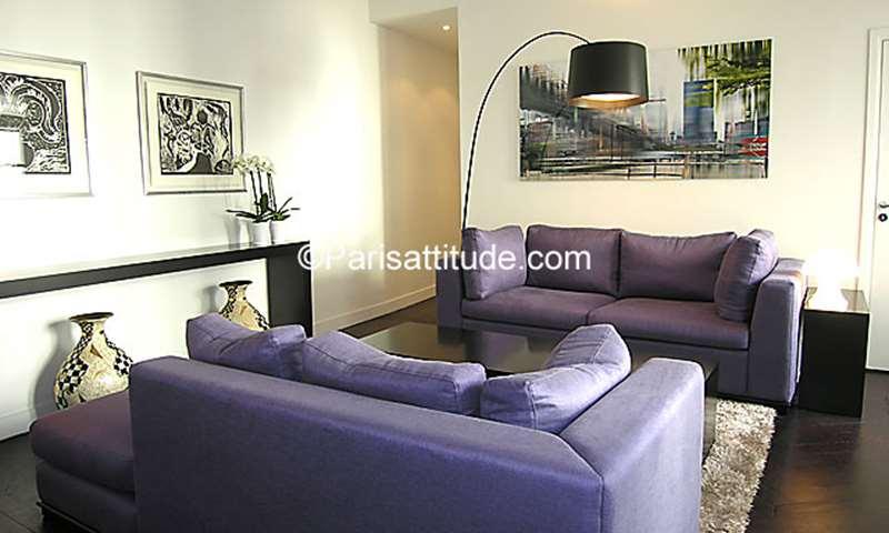 Rent Apartment 1 Bedroom 60m² rue de Seine, 75006 Paris