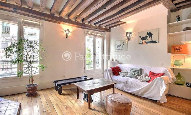 Rent Apartment 2 Bedroom 78m² rue Reaumur, 75002 Paris