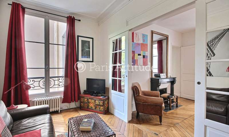 Rent Apartment 1 Bedroom 50m² avenue Bosquet, 7 Paris
