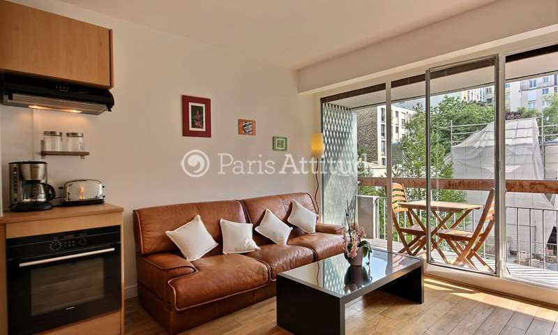 Rent Apartment 1 Bedroom 33m² rue de Dantzig, 15 Paris