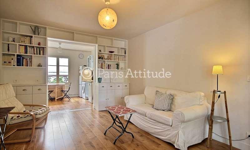 Rent Apartment 1 Bedroom 51m² boulevard de Clichy, 18 Paris