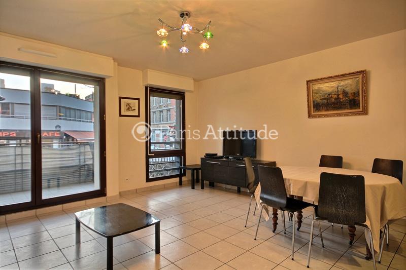 Louer un appartement paris 75019 62m la villette for Appartement atypique 75019