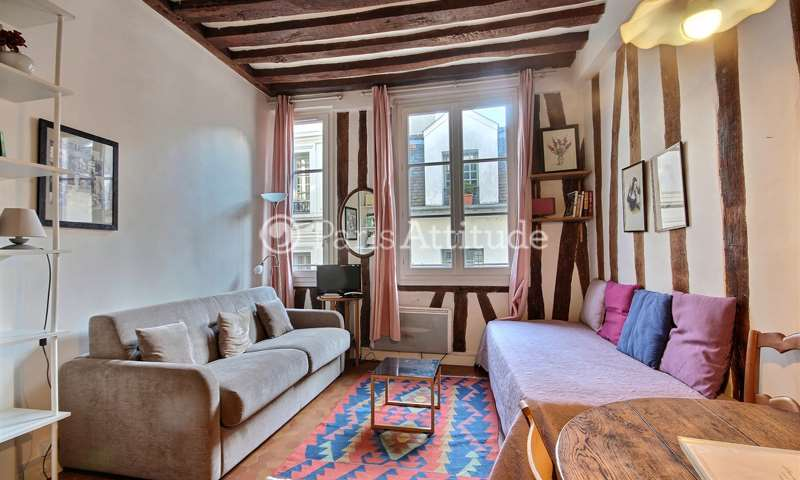 Location Appartement Studio 23m² rue de l Hotel Colbert, 75005 Paris