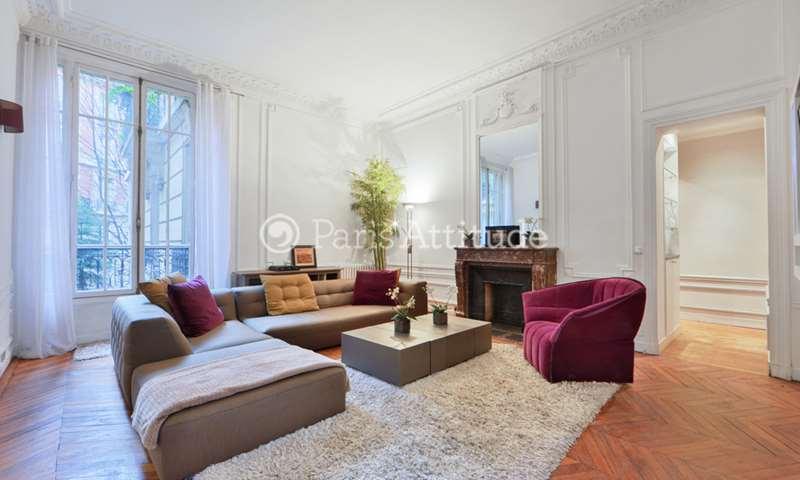 Rent Apartment 3 Bedrooms 140m² avenue Niel, 17 Paris
