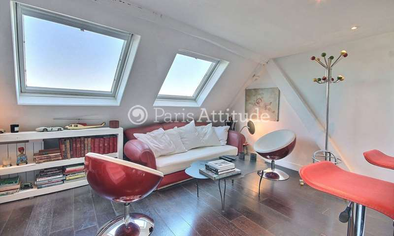 Rent Duplex 1 Bedroom 37m² rue de Bourgogne, 7 Paris