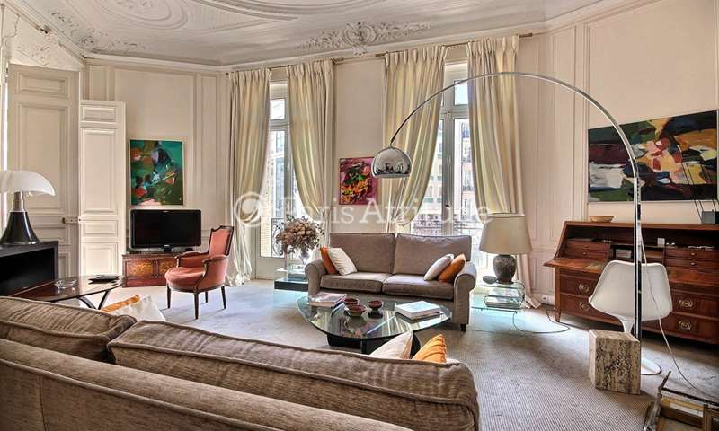 Rent Apartment 3 Bedrooms 170m² boulevard Haussmann, 8 Paris
