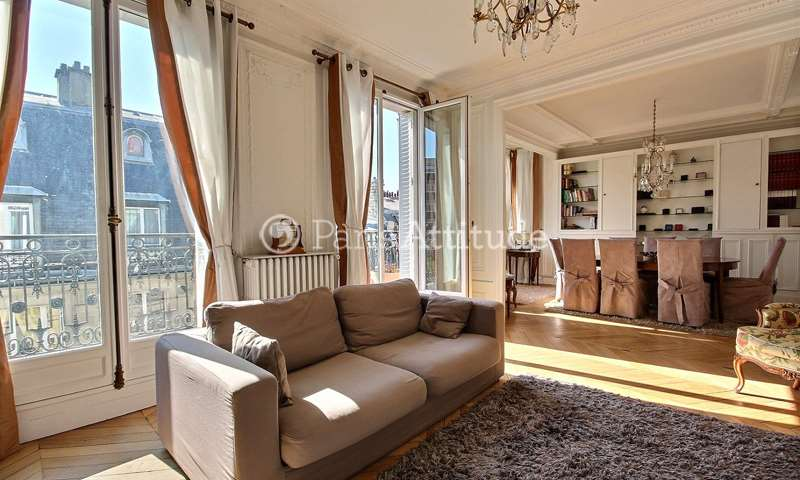 Rent Apartment 3 Bedrooms 108m² rue d Auteuil, 16 Paris