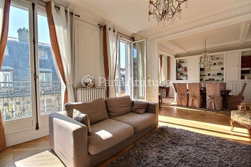 Rent furnished Apartment 3 Bedrooms 108m² rue d Auteuil, 75016 Paris
