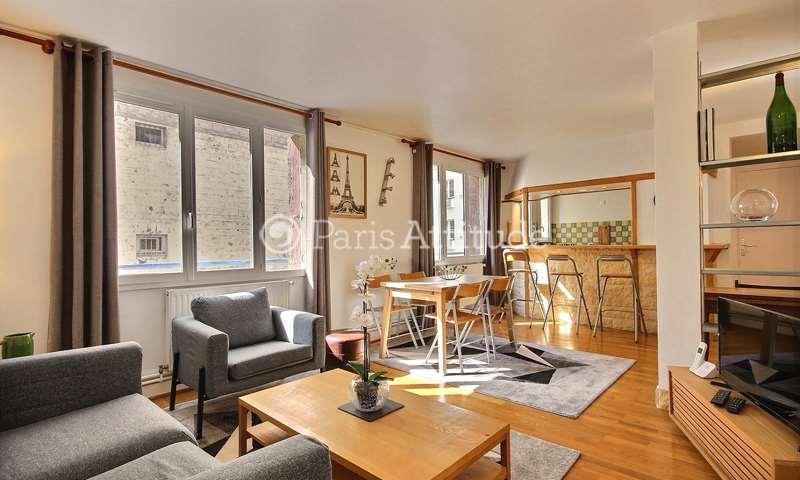 Rent Apartment 2 Bedroom 63m² rue de Rochechouart, 75009 Paris