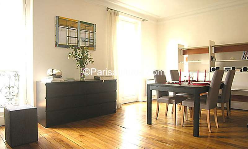 Rent Apartment 1 Bedroom 52m² rue Torricelli, 17 Paris
