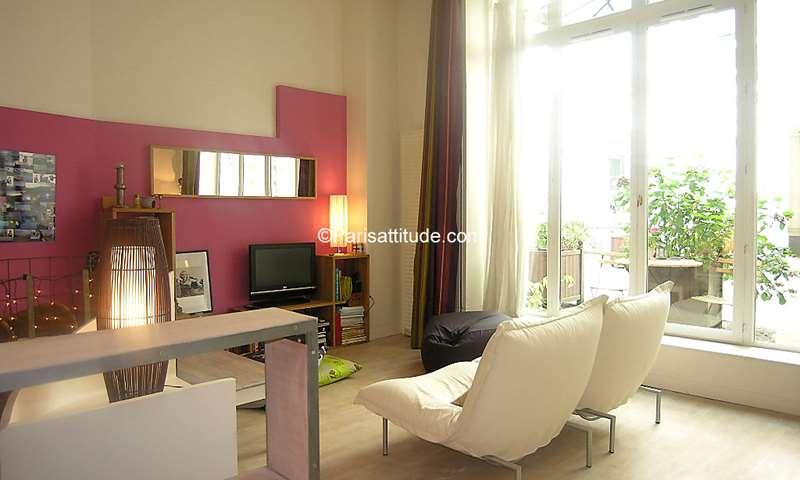 Rent Triplex 2 Bedroom 124m² rue Henner, 75009 Paris