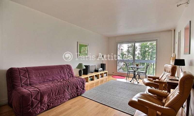 Location Appartement Studio 32m² rue Lecourbe, 15 Paris