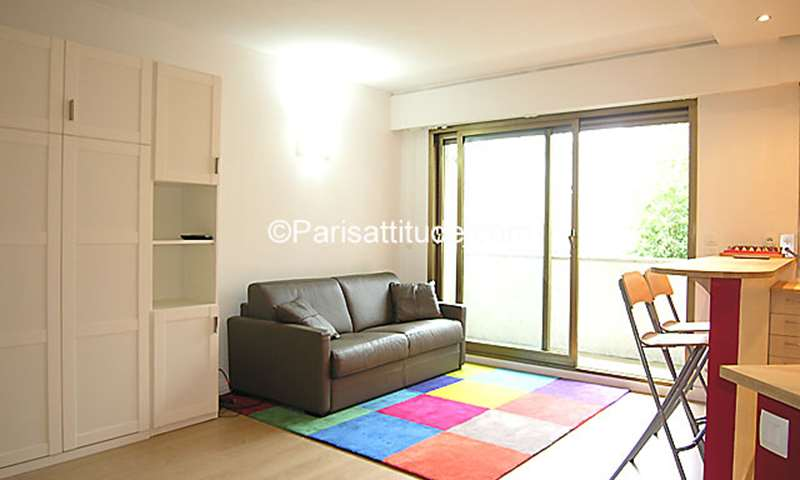 Rent Apartment Studio 33m² rue Singer, 16 Paris