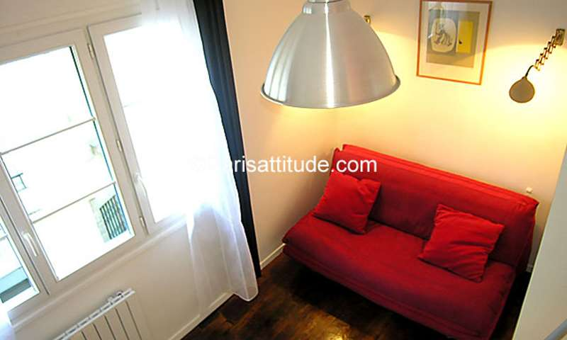 Rent Apartment Studio 15m² rue du Croissant, 2 Paris