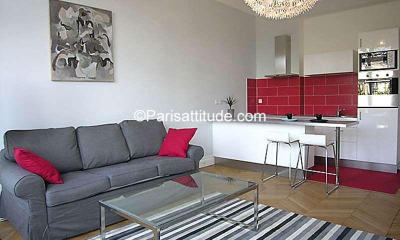 Rent Apartment Studio 33m² rue du Faubourg Saint Honore, 8 Paris