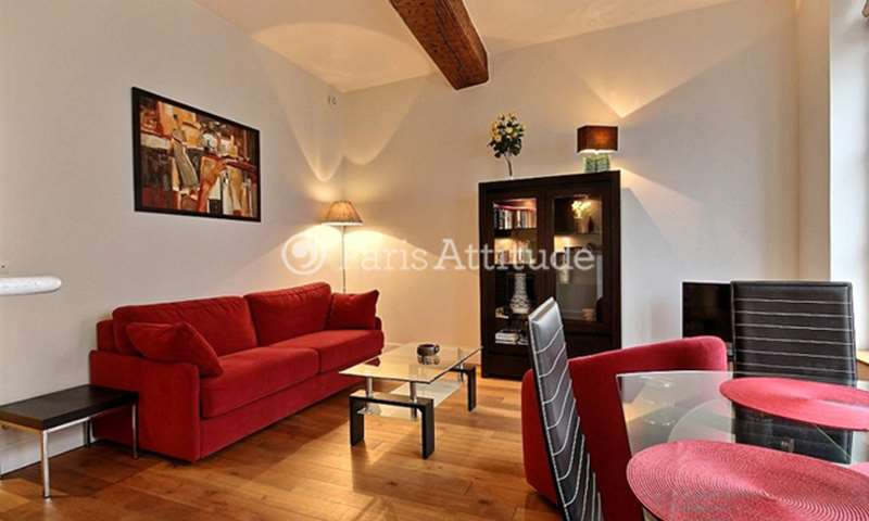 Rent Apartment 1 Bedroom 44m² rue du Dragon, 75006 Paris
