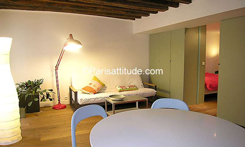 Rent Apartment 1 Bedroom 43m² rue du Pot de Fer, 75005 Paris