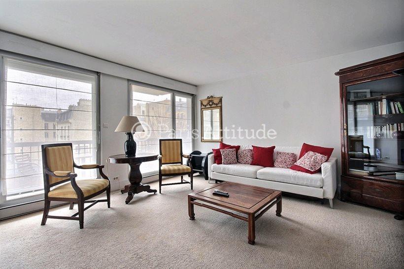 Rent furnished Apartment 2 Bedrooms 86m² rue de Clichy, 75009 Paris