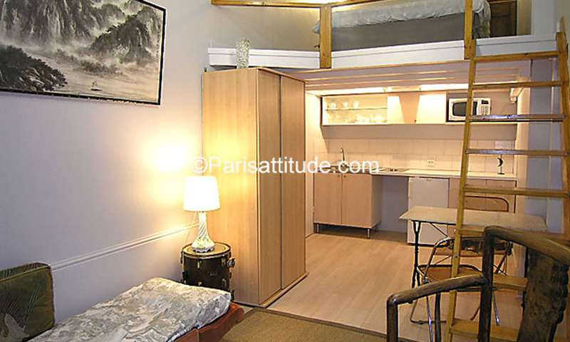 Rent Apartment Studio 19m² boulevard Raspail, 6 Paris