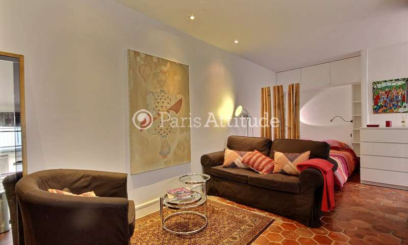 Rent Apartment Alcove Studio 31m² rue Germain Pilon, 18 Paris